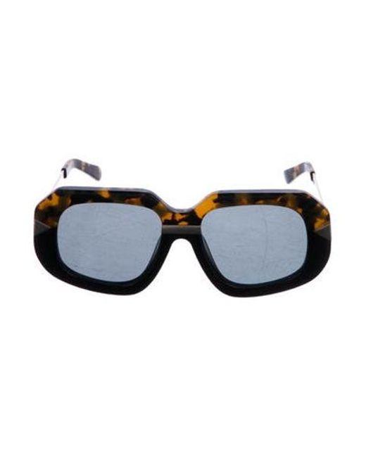 870791d624 Karen Walker - Metallic Hollywood Creeper Sunglasses W  Tags Brown - Lyst  ...