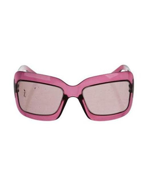8761257ceb5 Dior - Metallic Extra Light 2 Sunglasses Purple - Lyst ...