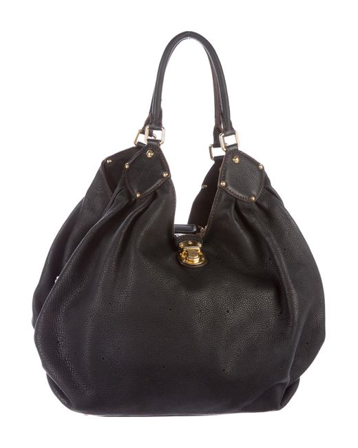 Louis Vuitton | Black Mahina Xl Hobo | Lyst