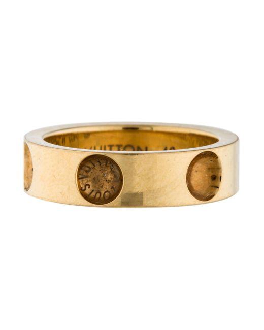 Louis Vuitton   Metallic 18k Empreinte Ring Yellow   Lyst