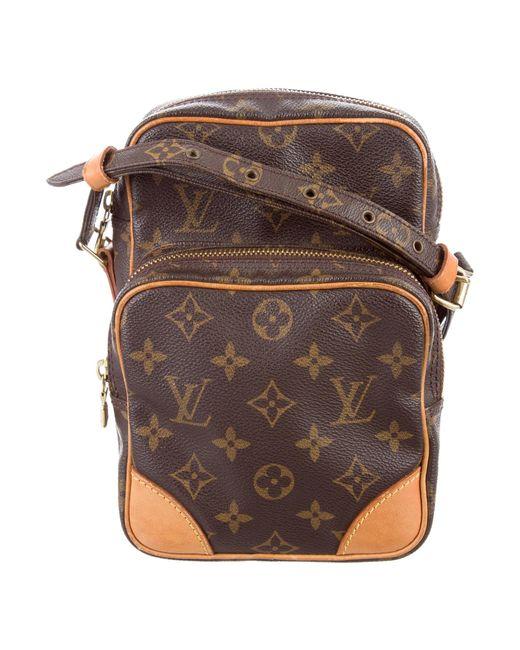 Louis Vuitton | Natural Monogram Amazone Bag Brown | Lyst
