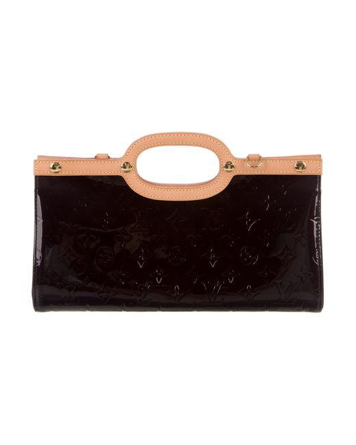 Louis Vuitton   Natural Vernis Roxbury Drive Bag Brass   Lyst