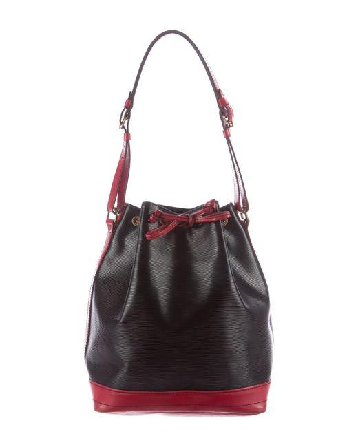 Louis Vuitton | Black Bicolor Epi Noé | Lyst