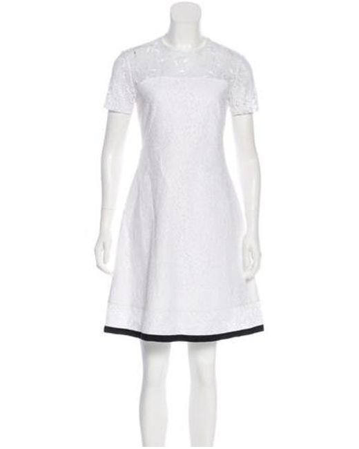 N°21 - White Lace A-line Dress W  Tags - Lyst ... 0a0957359