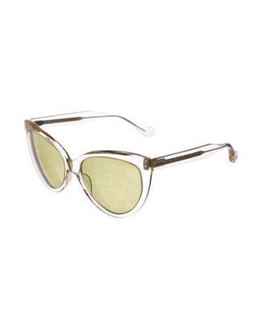 81da252ea4d ... Dita - Yellow Eclipse Tinted Sunglasses Clear - Lyst ...