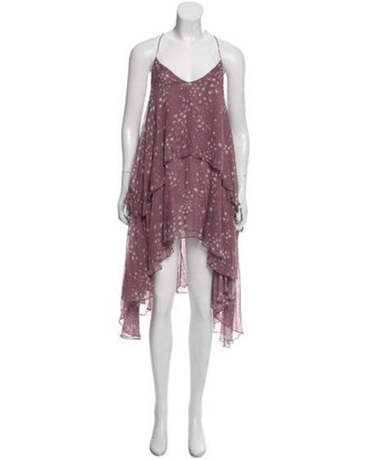 a0a241b220f LoveShackFancy - Purple Sienna Midi Dress - Lyst ...