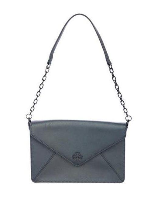 86477a00be5 Tory Burch - Natural Kira Envelope Clutch Metallic - Lyst ...