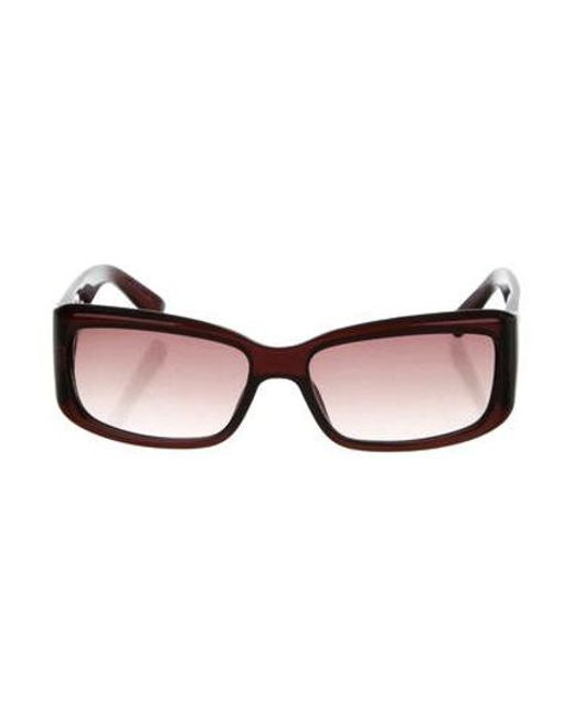 21879b21e67 Dior - Metallic Narrow Gradient Sunglasses Brown - Lyst ...