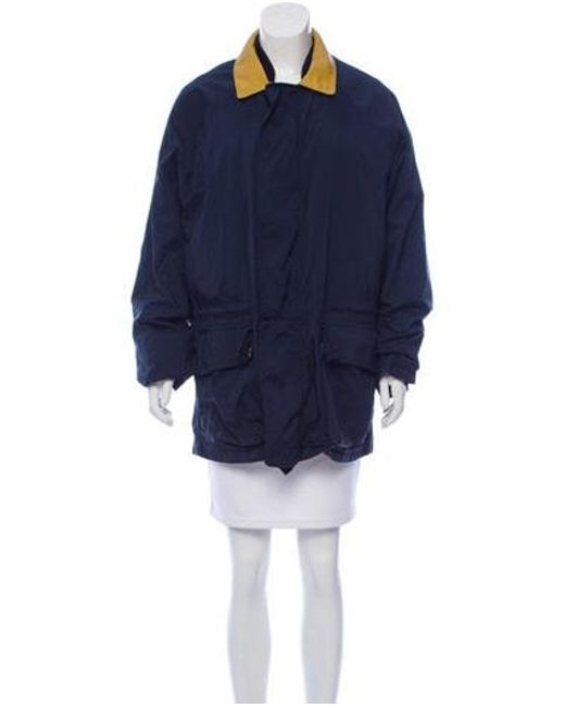 Loro Piana - Blue Leather-accented Layered Jacket - Lyst