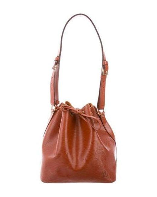 521dc22dee59 Louis Vuitton - Metallic Epi Noé Bag Gold - Lyst ...