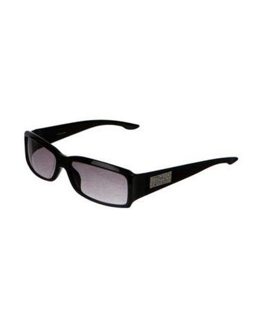 adaefc417504 ... Dior - Metallic Night 4 Strass Sunglasses Black - Lyst ...