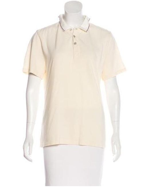 Rag & Bone - White Short Sleeve Knit Top - Lyst