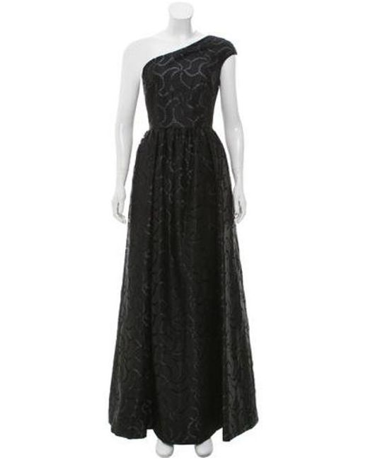 748a68f3670 David Meister - Gray Lace Evening Dress Grey - Lyst ...
