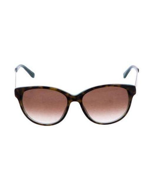 b7a2b0802c Kate Spade - Brown Amalia Gradient Sunglasses - Lyst ...