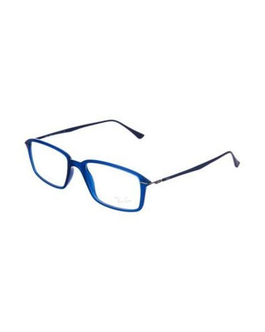615547d3f4 ... Ray-Ban - Natural Lightray Rectangular Eyeglasses Clear for Men - Lyst  ...