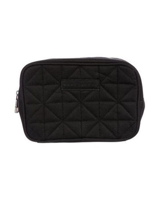 cb7c722ac919 Marc Jacobs - Black Quilted Cosmetic Pouch - Lyst ...