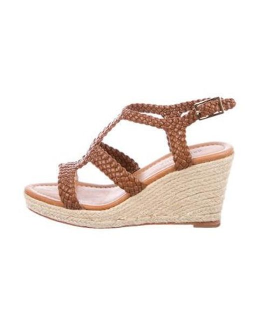 26d0bfc770 Kate Spade - Natural Fay Espadrille Wedges Brown - Lyst ...