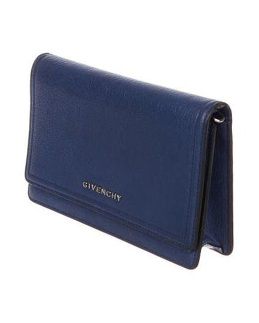 bf13b75028 ... Givenchy - Metallic Pandora Wallet On Chain W/ Tags Blue - Lyst ...