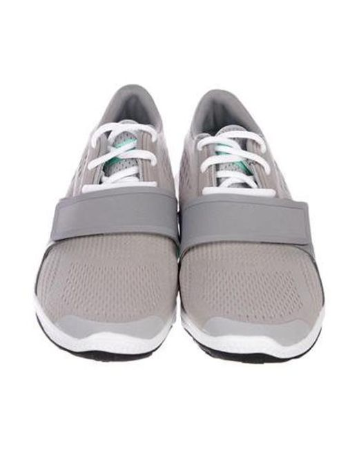 d891da78a ... Adidas By Stella McCartney - Natural Atani Bounce Sneakers Grey - Lyst  ...