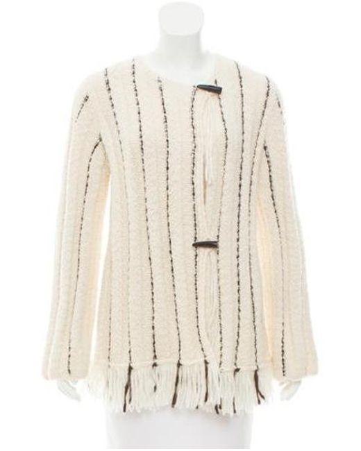Raquel Allegra - Black Knit Toggle Sweater - Lyst
