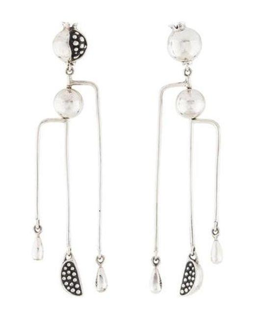 Pamela Love Metallic Hera Mobile Earrings Silver Lyst