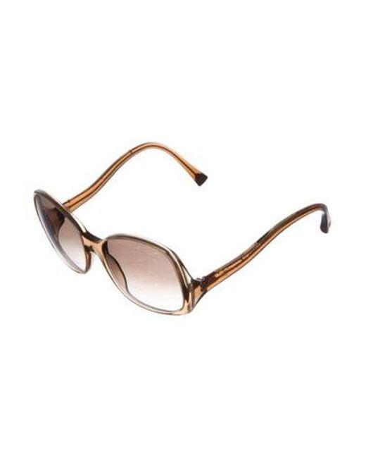 23443dd5106e ... Louis Vuitton - Natural Gina Glitter Sunglasses Beige - Lyst ...