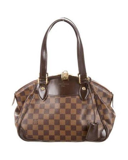 Louis Vuitton - Natural Damier Ebene Verona Pm Brown - Lyst