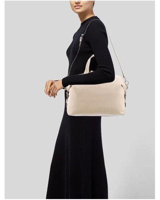 8c59ebf91666 ... Givenchy - Metallic 2017 Medium Nightingale Bag Beige - Lyst ...