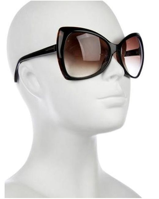 4fc12290f76 ... Tom Ford - Metallic Nico Gradient Sunglasses Brown - Lyst