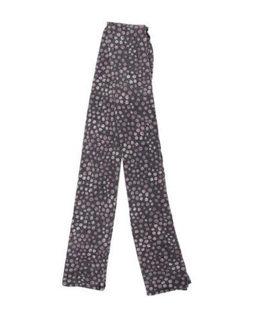Etro - Natural Reversible Rectangle Scarf Grey - Lyst