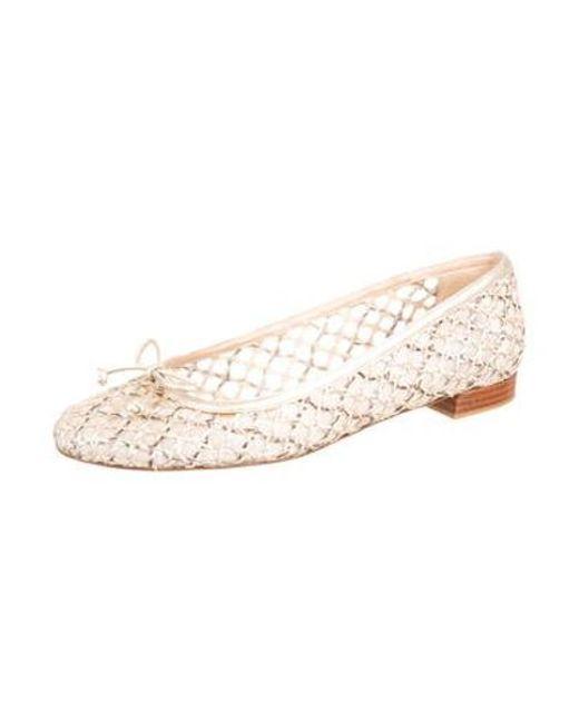 648d13d9582 ... Stuart Weitzman - Metallic Leather Round-toe Loafers Gold - Lyst ...
