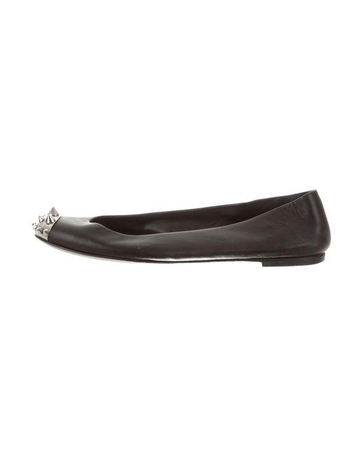 Giuseppe Zanotti Embellished Round-Toe Flats 2014 unisex 0JnxYH08e