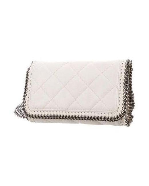 ... Stella McCartney - White Falabella Crossbody Bag - Lyst ... 33fa679ec09ab