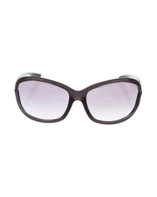 639a3b6929 Tom Ford - Metallic Jennifer Gradient Sunglasses Gold - Lyst ...