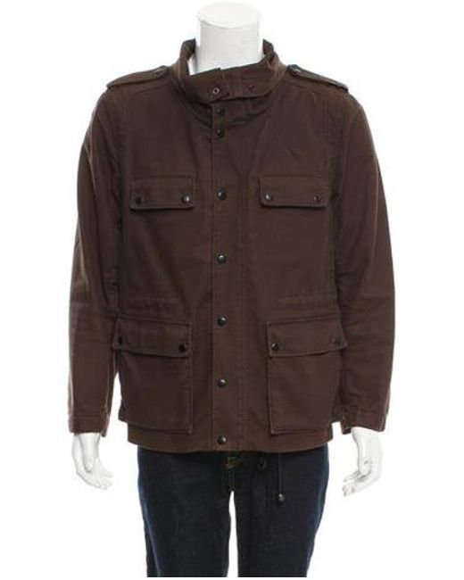 3.1 Phillip Lim - Green Twill Utility Jacket Olive for Men - Lyst