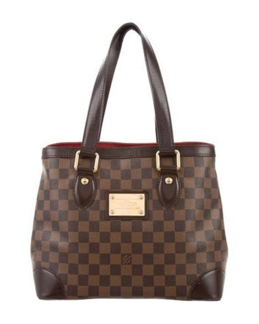 Louis Vuitton - Brown Damier Ebene Hampstead Pm - Lyst