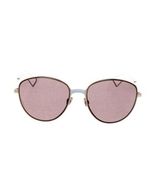 e664fb07e2f Dior - Metallic Ultra Tinted Sunglasses Gold - Lyst ...