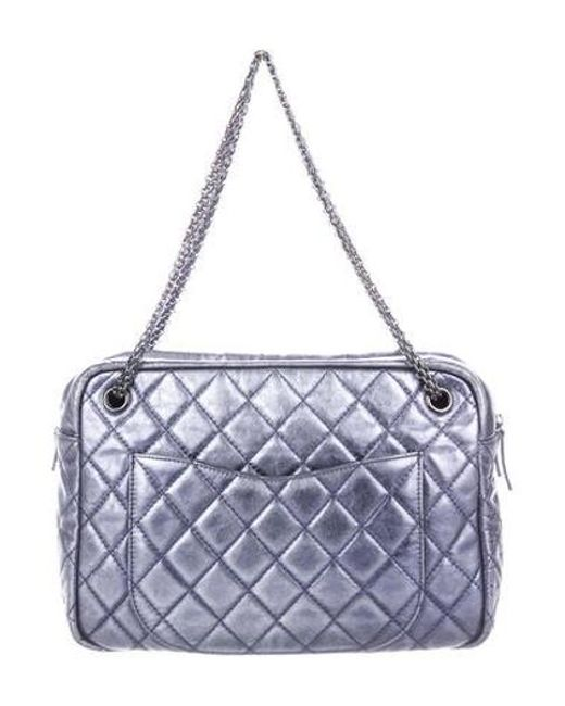3cdcc0bb5107 ... Chanel - Metallic Medium Reissue Camera Bag - Lyst