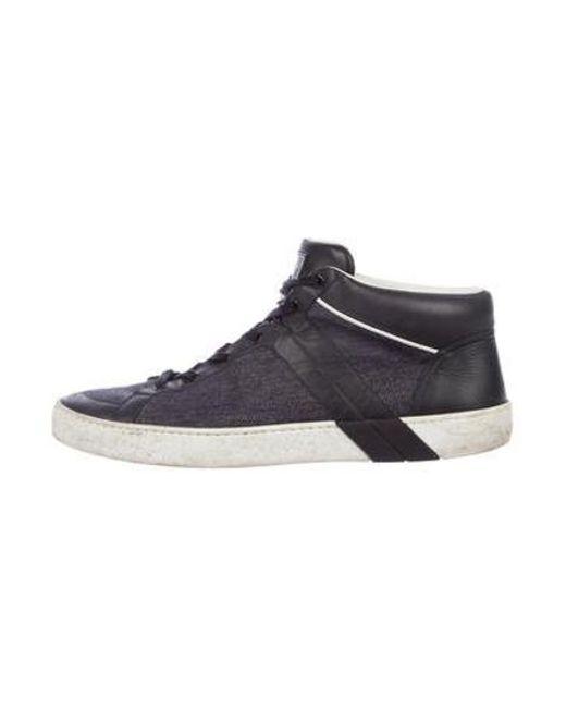 6cfa557dae4b Louis Vuitton - Blue High-top Sneakers for Men - Lyst ...