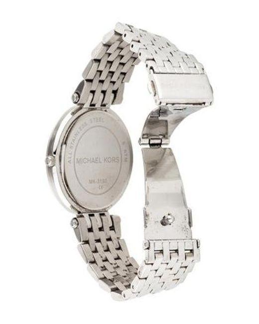 7b0b9db0d402 ... Michael Kors - Metallic Darci Watch - Lyst