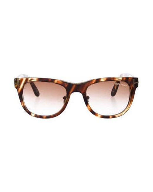 c205711675 Tom Ford - Brown Jack Gradient Sunglasses - Lyst ...