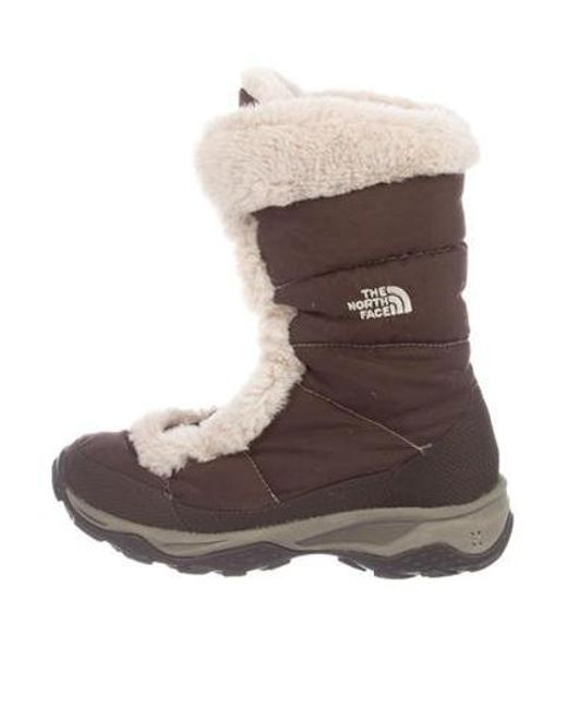 84ecef1a9 Women's Brown Quilted Snow Boots