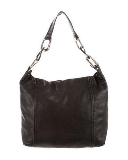 11ac553287b MICHAEL Michael Kors - Metallic Michael Kors Shoulder Bag Black - Lyst ...
