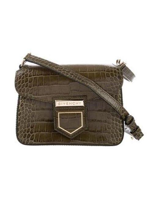 Givenchy - Metallic 2017 Nobile Crossbody Bag W  Tags Olive - Lyst ... 49432fab73e71