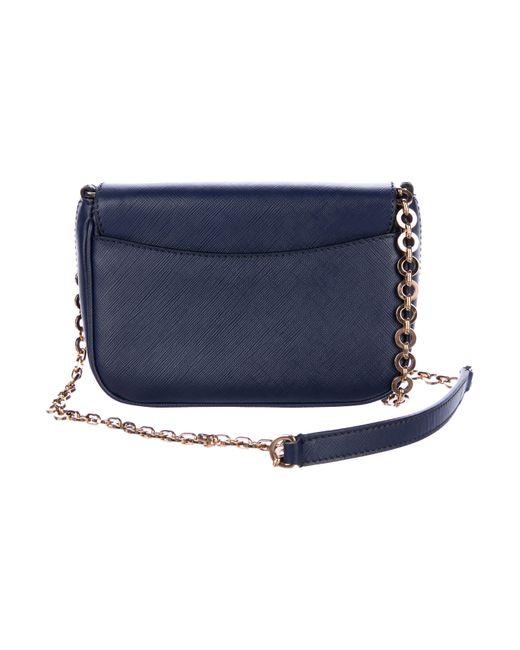 ... Ferragamo - Metallic Saffiano Fancy Shoulder Bag Blu - Lyst ... 810fc155641ed