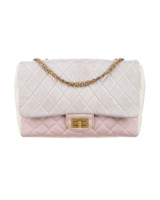 Chanel | Metallic Reissue Single Flap Bag Blue | Lyst