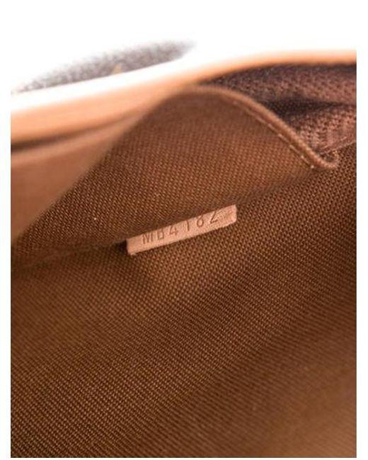 5f6c97a152e4 Louis Vuitton - Natural Monogram Saumur 28 Brown - Lyst ...