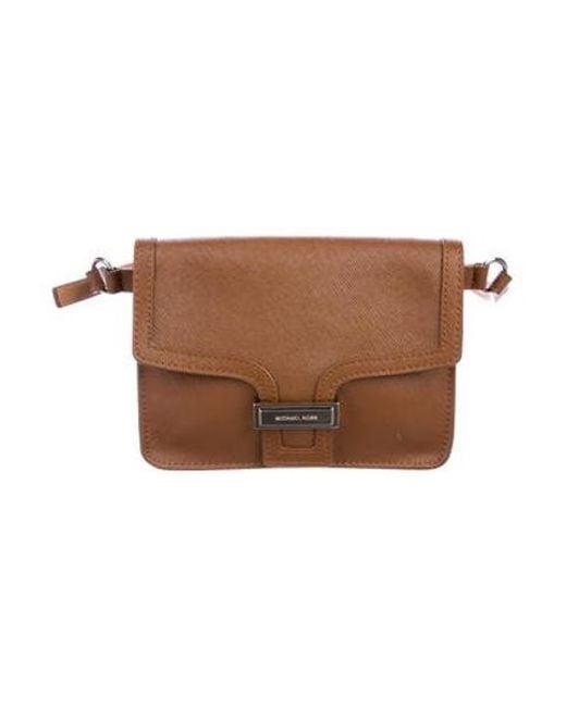8172960fc289 Michael Kors - Metallic Leather Waist Bag Cognac - Lyst ...