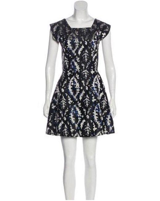 a6adfe1c35 Lyst - Theyskens  Theory Mini A-line Dress in Black