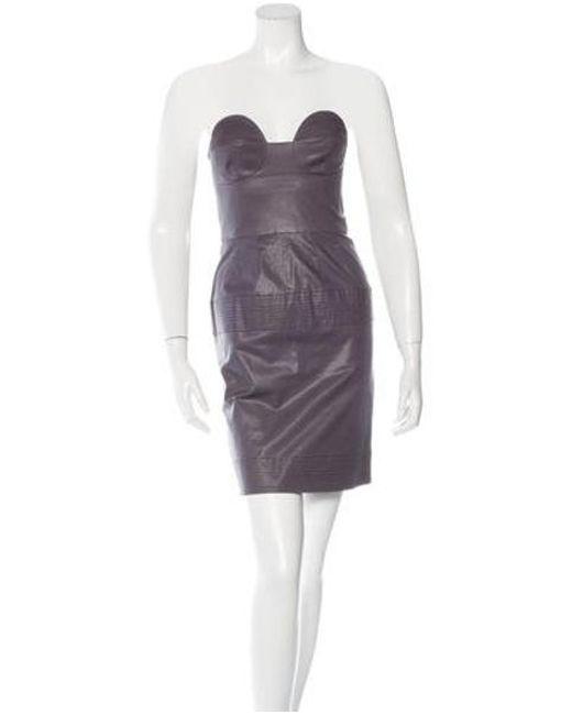 Lyst Alice Mccall Sleeveless Mini Dress In Purple
